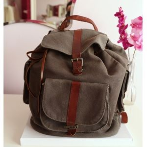 Urban Outfitters Canvas Backpack